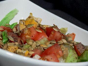chicken sunflower seed salad