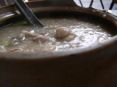 Frog Porridge - Before