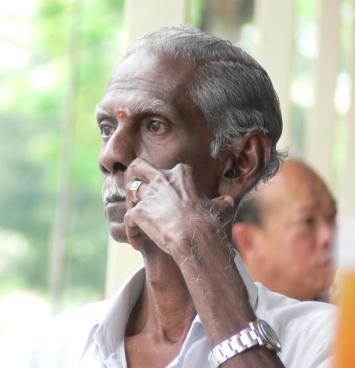 Indian Man at Potong Pasir Coffee Shop