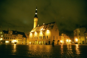 Tallin at Night