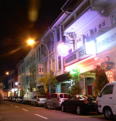 Keong Saik Street Evening