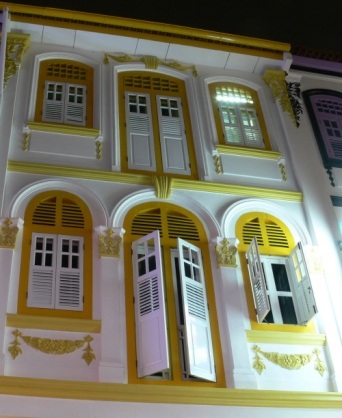 Keong Saik Street Yellow Windows