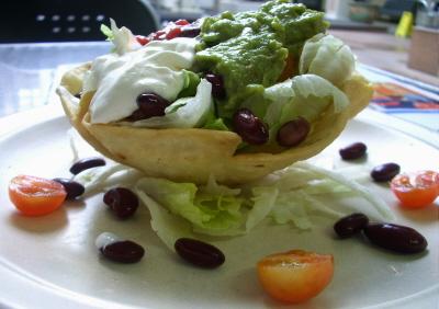 Taco Shell Salad