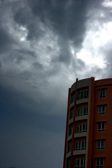 Dusk Rain in Kembangan