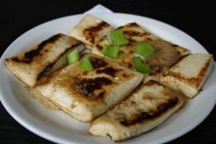 Organic Tau Kwa with SesameDressing