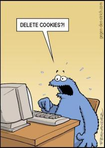 Cookie Monster and his On Line Trauma