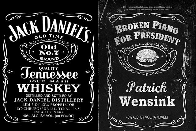 Well done, Jack Daniels. You're a true gentleman.  (1/2)
