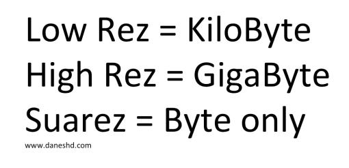 Low Rez, High Rez, Suarez